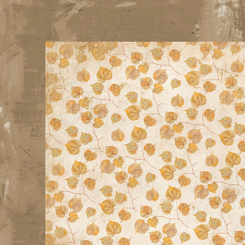 Kaisercraft - Golden Grove Collection - 12 x 12 Double Sided Paper - Fallen Leaves