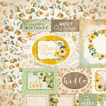 Kaisercraft - Golden Grove Collection - 12 x 12 Double Sided Paper - Thoughtful