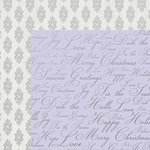Kaisercraft - Christmas Jewel Collection - 12 x 12 Double Sided Paper with Foil Accents - Holiday Wishes