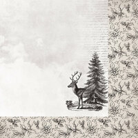 Kaisercraft - Christmas Edition Collection - 12 x 12 Double Sided Paper - Christmas Tree