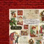Kaisercraft - Letters to Santa Collection - Christmas - 12 x 12 Double Sided Paper - Santa's Workshop