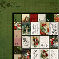 Kaisercraft - Letters to Santa Collection - Christmas - 12 x 12 Double Sided Paper - Believe in the Magic