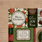 Kaisercraft - Letters to Santa Collection - Christmas - 12 x 12 Double Sided Paper - Be Merry