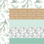 Kaisercraft - Mint Wishes Collection - Christmas - 12 x 12 Double Sided Paper - Shiver