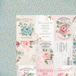Kaisercraft - Rose Avenue Collection - 12 x 12 Double Sided Paper - Homestead