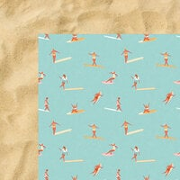 Kaisercraft - Summer Splash Collection - 12 x 12 Double Sided Paper - Surfers