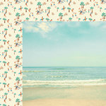 Kaisercraft - Summer Splash Collection - 12 x 12 Double Sided Paper - Sunkissed