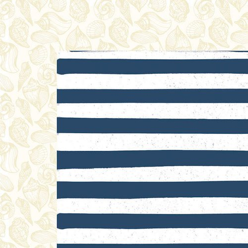 Kaisercraft - Summer Splash Collection - 12 x 12 Double Sided Paper - Beach Towel