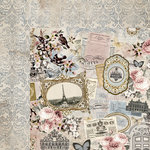 Kaisercraft - Romantique Collection - 12 x 12 Double Sided Paper - Parisian