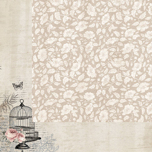 Kaisercraft - Romantique Collection - 12 x 12 Double Sided Paper - Boudoir