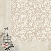 Kaisercraft - Romantique Collection - 12 x 12 Double Sided Paper - Boudoir