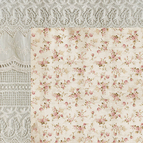 Kaisercraft - Romantique Collection - 12 x 12 Double Sided Paper - Lacy