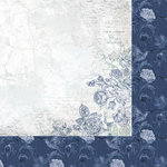 Kaisercraft - Wandering Ivy Collection - 12 x 12 Double Sided Paper - Plaster Rose