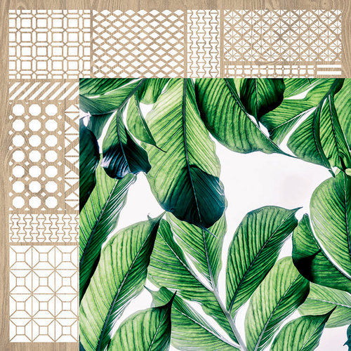 Kaisercraft - Havana Nights Collection - 12 x 12 Double Sided Paper - Lush
