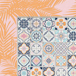 Kaisercraft - Havana Nights Collection - 12 x 12 Double Sided Paper - Ceramic