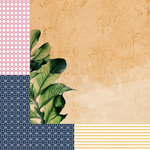 Kaisercraft - Havana Nights Collection - 12 x 12 Double Sided Paper - Clay
