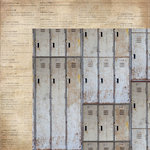 Kaisercraft - Documented Collection - 12 x 12 Double Sided Paper - Lockers