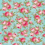 Kaisercraft - Miss Betty Collection - 12 x 12 Double Sided Paper - Stitched