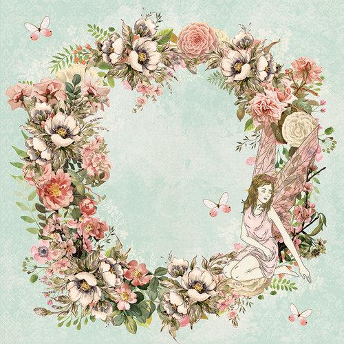 Kaisercraft - Fairy Garden Collection - 12 x 12 Double Sided Paper - Fantasy
