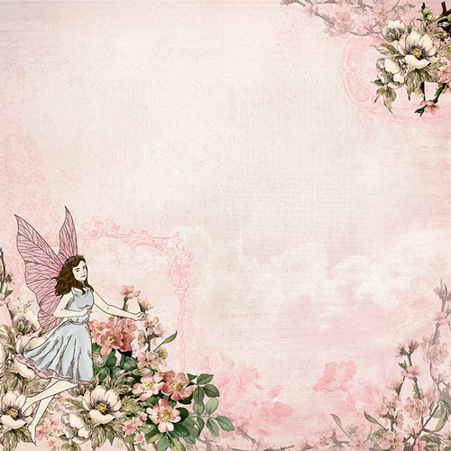 Kaisercraft - Fairy Garden Collection - 12 x 12 Double Sided Paper - Mystify