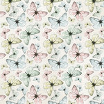 Kaisercraft - Fairy Garden Collection - 12 x 12 Double Sided Paper - Fluttering
