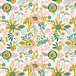 Kaisercraft - Fleur Collection - 12 x 12 Double Sided Paper - Hello