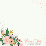 Kaisercraft - Fleur Collection - 12 x 12 Double Sided Paper - So Amazing