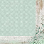 Kaisercraft - Memory Lane Collection - 12 x 12 Double Sided Paper - Mint Blush