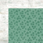 Kaisercraft - Memory Lane Collection - 12 x 12 Double Sided Paper - Jade Jewel