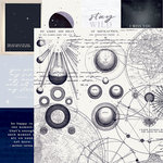 Kaisercraft - Stargazer Collection - 12 x 12 Double Sided Paper - Galaxy