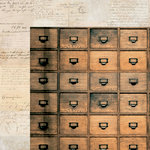 Kaisercraft - Anthology Collection - 12 x 12 Double Sided Paper - Apothecary