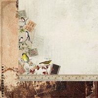 Kaisercraft - Anthology Collection - 12 x 12 Double Sided Paper - Ornithology