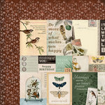 Kaisercraft - Anthology Collection - 12 x 12 Double Sided Paper - Antiquity