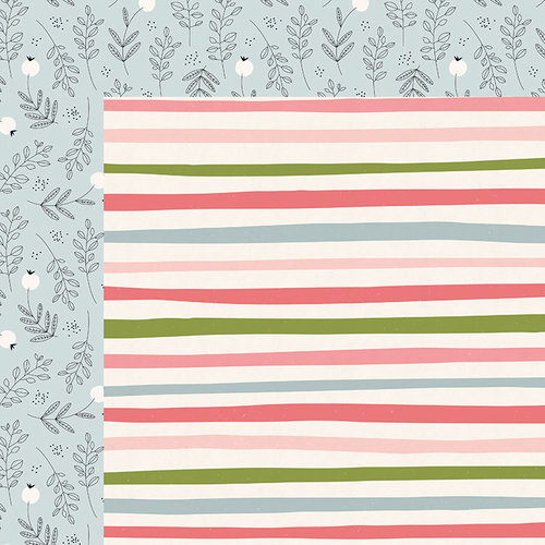 Kaisercraft - Full Bloom Collection - 12 x 12 Double Sided Paper - Growth