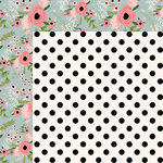 Kaisercraft - Full Bloom Collection - 12 x 12 Double Sided Paper - Posie