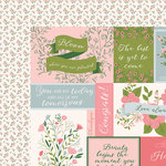 Kaisercraft - Full Bloom Collection - 12 x 12 Double Sided Paper - Rosebud