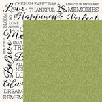 Kaisercraft - Full Bloom Collection - 12 x 12 Double Sided Paper - Undergrowth
