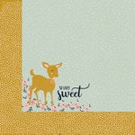 Kaisercraft - Hide and Seek Collection - 12 x 12 Double Sided Paper - Fawn