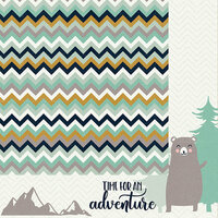 Kaisercraft - Hide and Seek Collection - 12 x 12 Double Sided Paper - Bears