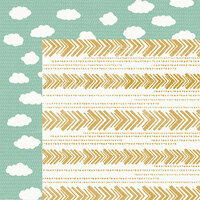 Kaisercraft - Hide and Seek Collection - 12 x 12 Double Sided Paper - Clouds