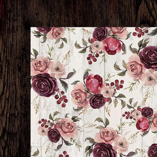Kaisercraft - Gypsy Rose Collection - 12 x 12 Double Sided Paper - Inspiring