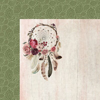Kaisercraft - Gypsy Rose Collection - 12 x 12 Double Sided Paper - Free Spirit