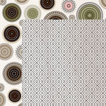 Kaisercraft - Gypsy Rose Collection - 12 x 12 Double Sided Paper - Braided