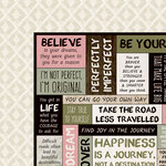 Kaisercraft - Gypsy Rose Collection - 12 x 12 Double Sided Paper - Original