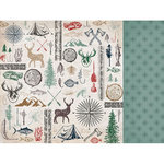 Kaisercraft - Mountain Air Collection - 12 x 12 Double Sided Paper - Outdoors