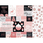 Kaisercraft - Sparkle Collection - 12 x 12 Double Sided Paper with Foil Accents - Luster