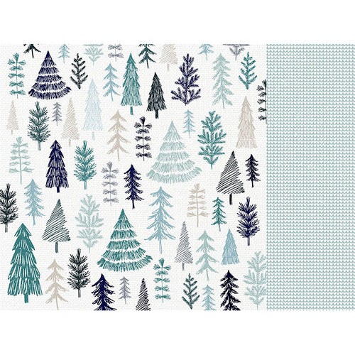 Kaisercraft - Wonderland Collection - Christmas - 12 x 12 Double Sided Paper - Winter
