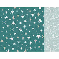 Kaisercraft - Wonderland Collection - Christmas - 12 x 12 Double Sided Paper - Stars