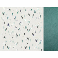 Kaisercraft - Wonderland Collection - Christmas - 12 x 12 Double Sided Paper - Snow Scene
