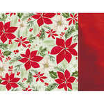Kaisercraft - Peace and Joy Collection - Christmas - 12 x 12 Double Sided Paper - Cheer